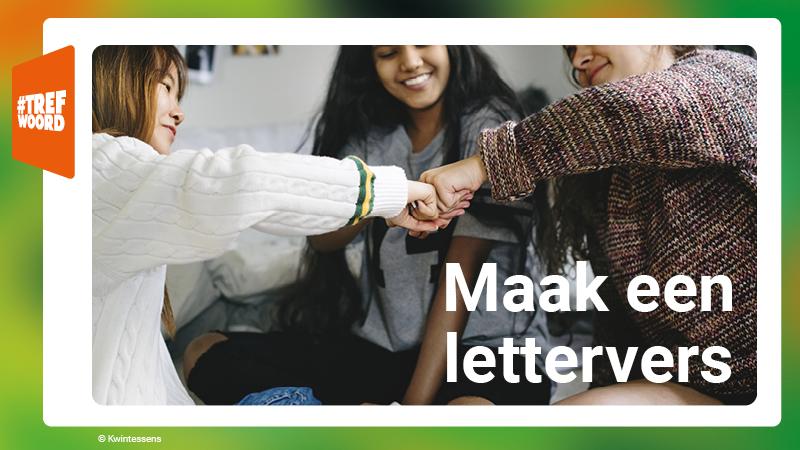 Maak een lettervers