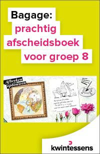 Prachtig en bijzonder afscheidsboek voor je leerlingen van groep 8!