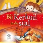 Kerstprentenboek Bij Kerkuil in de stal