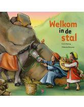 Kerstprentenboek Welkom in de stal