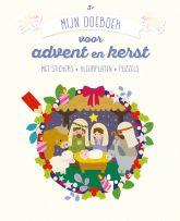 Mijn doeboek voor advent en kerst (3+)