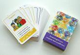 Stop denk doe-kwartetspel kaarten en doosje