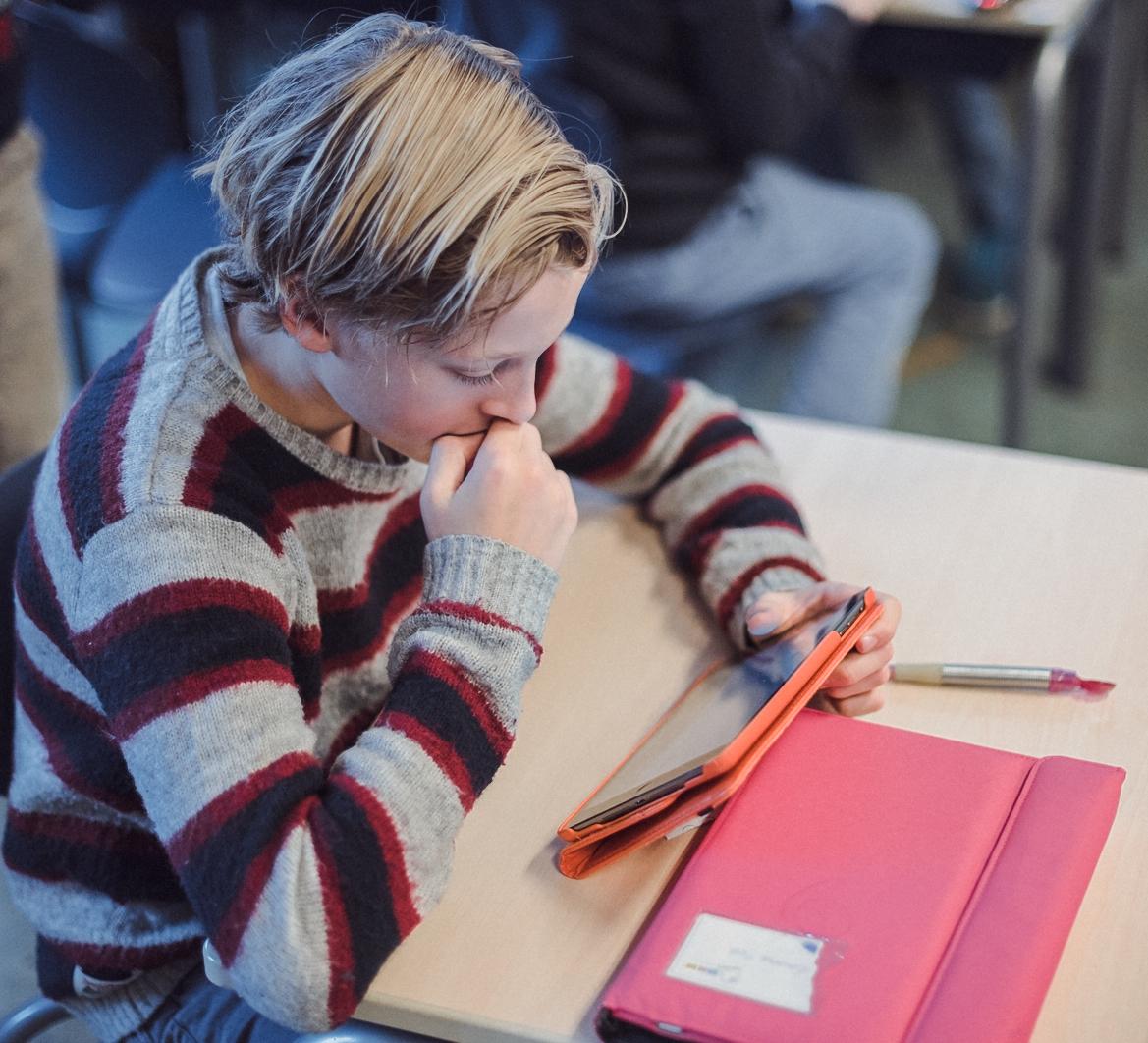 EigenwijzR is een meetinstrument voor sociale veiligheid in de klas en voldoet aan de Wet sociale veiligheid